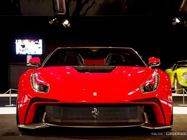 Photos du jour : Ferrari F12 TRS (Exposition Concept cars)