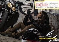 Salon de Milan 2015: 3 nouveautés chez Scorpion
