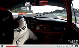 Réveil Auto - A fond en Porsche 911 de 1965 sur le circuit de Spa