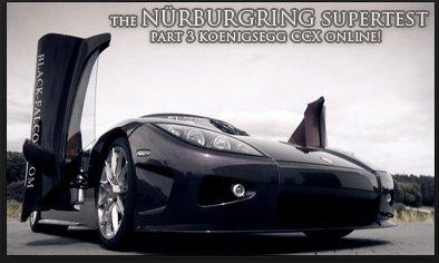 Vidéo : La Koenigsegg CCX attaque le Nürburgring
