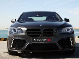 BMW Serie 7 par Mansory : 640 chevaux