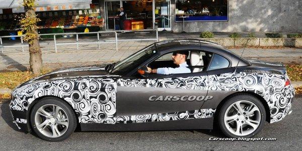 Futur BMW Z4 : l'effeuillage continue