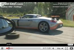 Réveil Auto - Carrera GT vs 997 GT2, quelle est la meilleure Porsche en ligne droite ? [+ Bonus Koenigseeg CCR]