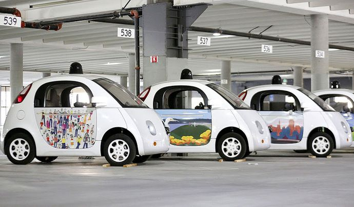 Google ne pense plus à la voiture autonome
