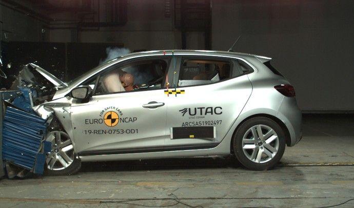 Derniers résultats Euro NCAP : la Renault Clio 5 paye ses 5 étoiles, les autres itou