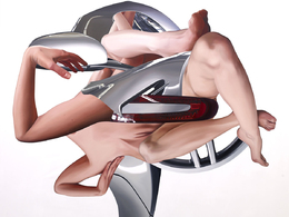 (Minuit chicanes) Till Rabus évoque sa série de peintures Caradisiac