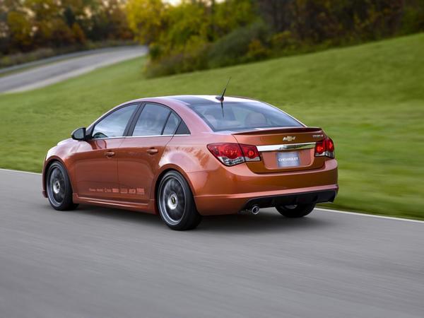 Chevrolet Cruze : bientôt une version ultra-sportive par les Australiens de chez Holden