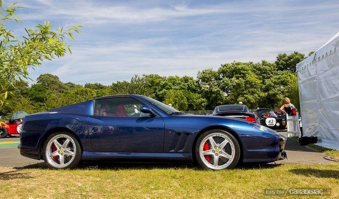 Photos du jour : Ferrari 575 Superamerica (Le Mans Classic)
