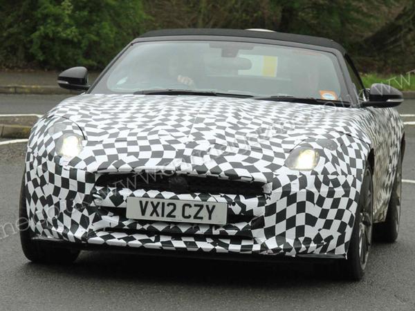 La future Jaguar F-Type surprise sur route