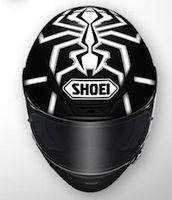 """Shoei NXR : nouvelle déco Marquez Replica, """"Black Ant"""""""