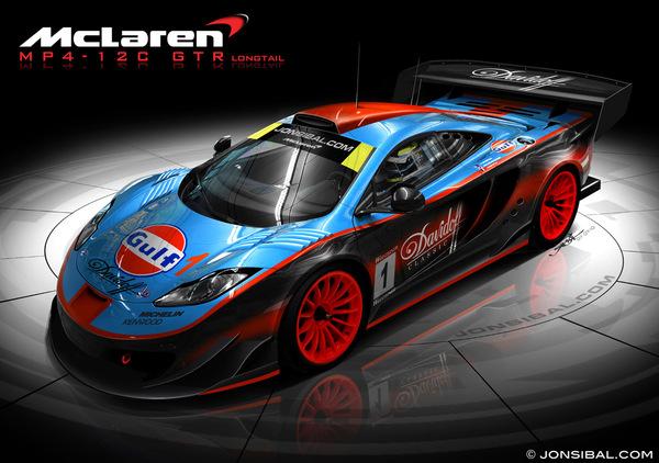 McLaren MP4-12 C GTR : peut-être la préférez-vous en version Long Tail ?