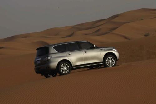 [Vidéo] Le nouveau Nissan Patrol se dévoile sur les dunes d'Abu Dhabi