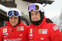 F1 - La guerre entre Fernando Alonso et Felipe Massa chez Ferrari ? Pas ( encore ) pour ce dernier