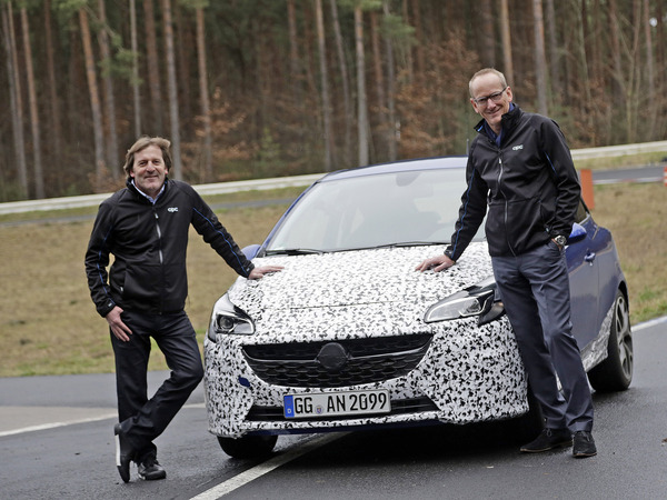 L'Opel Corsa OPC s'annonce