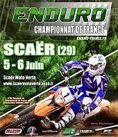 Championnat de France d'Enduro à Scaer : Nos juniors et les filles