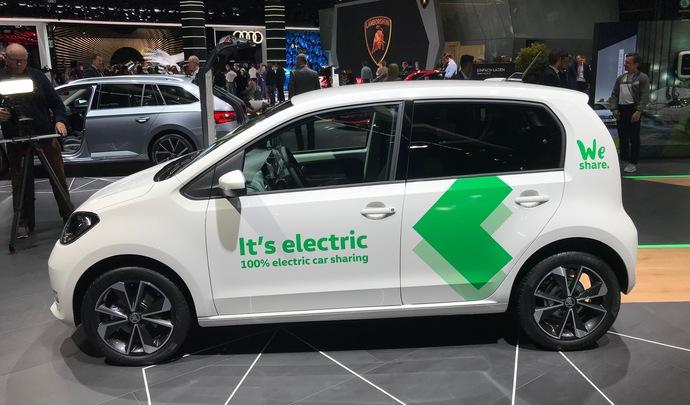 Skoda Citigo-e iV : l'électro-économique - En direct du salon de Francfort 2019
