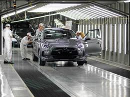 Citroën lance sa DS5 en Chine