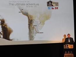 Dakar 2012: une arrivée au Pérou