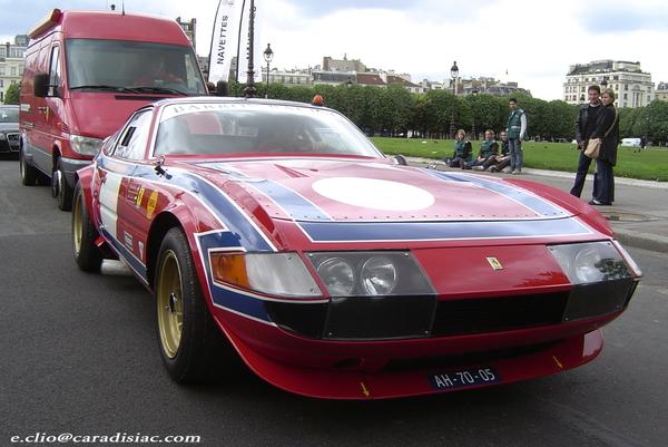 Photos du jour : Ferrari 365 GTB/4 Daytona Gr 4