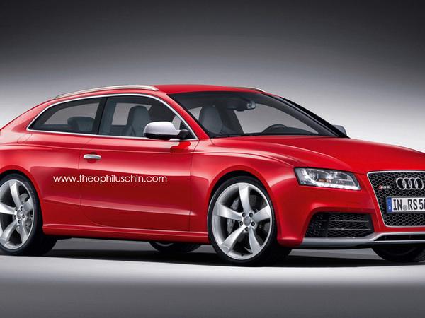 Et tant qu'on y est, pourquoi pas une Audi RS5 shooting brake ?