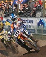 Motocross à Mantova en Italie.