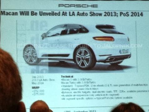 Porsche: le plan produit en fuite (featuring Boxster/Cayman, 911 et Macan)