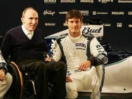 F1 - Frank Williams admet s'être trompé sur le cas Mark Webber