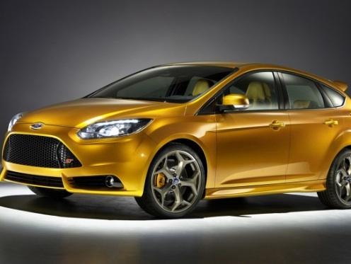 La nouvelle Ford Focus ST avec un amplificateur de son moteur