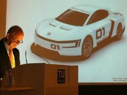 Volkswagen a parlé d'un XL Sport à moteur Ducati lors d'une conférence