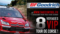 Tour de Corse 2007: Soyez VIP
