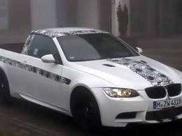 [Vidéo] la BMW M3 pick-up, improbable fantôme de la brume