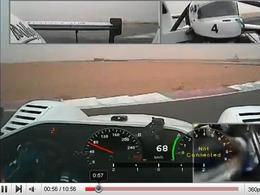 Une Radical SR3 conduite comme une voiture de rallye