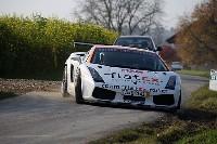 Une Lamborghini Gallardo en rallye!