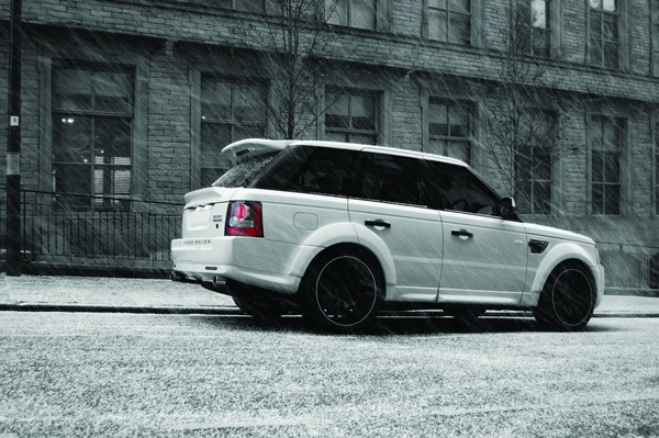 project kahn 600 ch pour le range rover sport. Black Bedroom Furniture Sets. Home Design Ideas