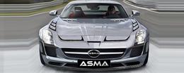 La Mercedes SLS revue par ASMA serait-elle belle?