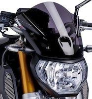 Puig: nouvelles bulles « Naked New Generation » pour Yamaha MT09