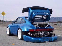Porsche 930 Bisimoto. Grand-mère fait un retour saignant avec 1200 chevaux