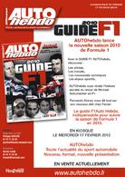 Auto Hebdo spécial F1 demain en kiosque