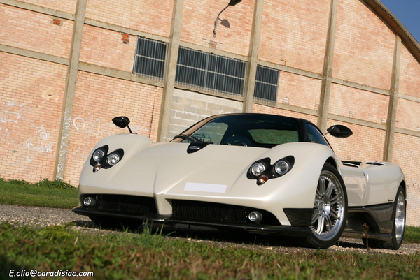 Photos du jour : Pagani Zonda F Clubsport