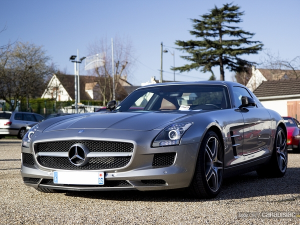 Photos du jour : Mercedes SLS AMG (Cars&Coffee Paris)