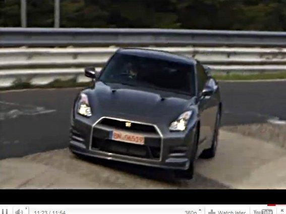 [vidéo] Ring Folies : les 7'24'' de la Nissan GT-R 2011