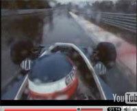 Vidéo F1 oldschool :¨Patrick Depailler sur Tyrrell 008 (1978)