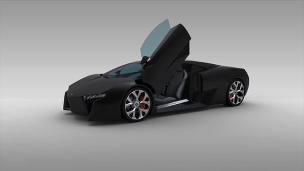 Lamborghini Murcielago par Mauro Lecchi : intéressante