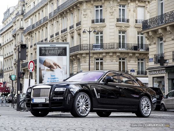 Photos du jour : Rolls Royce Ghost Mansory