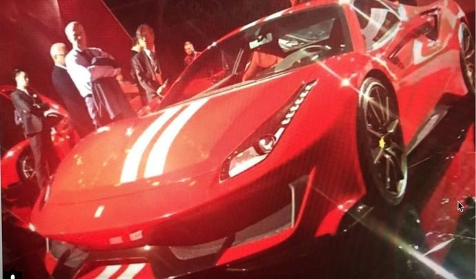 La Ferrari 488 GTO en fuite