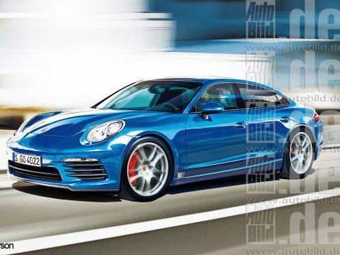 Une Porsche Pajun en développement ?