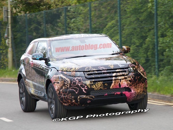 Futur Land Rover LRX : proche du concept