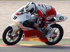 GP d' Italie : Louis Rossi chute, mais quelle démonstration !