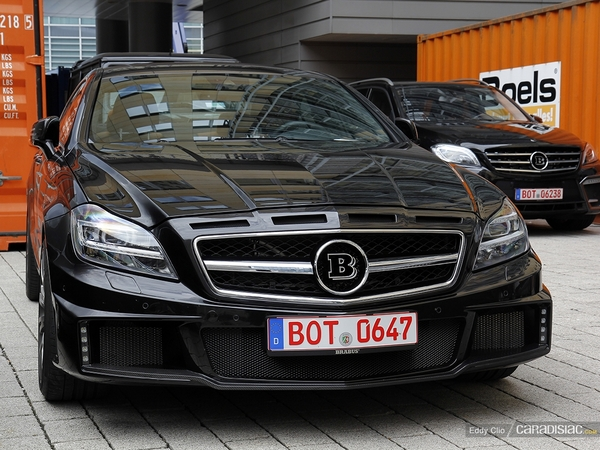 Photos du jour : Brabus CLS 850 Biturbo (Salon de Francfort)
