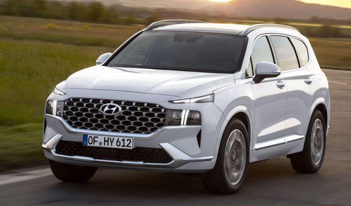 Hyundai Santa Fe hybride rechargeable (2021) : à partir de 55 200 €